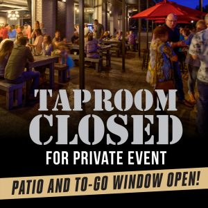 Taproom Closed